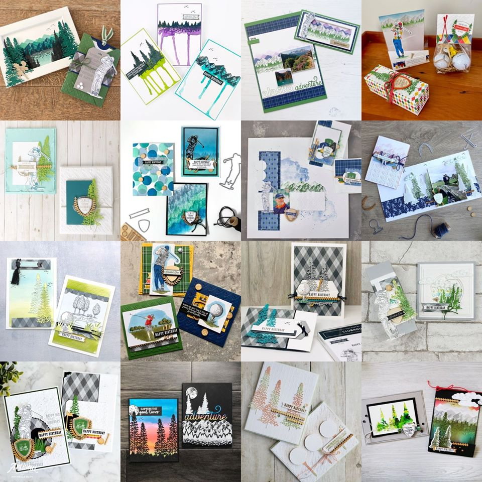 April 2020 Artisan Blog Hop Photo Grid
