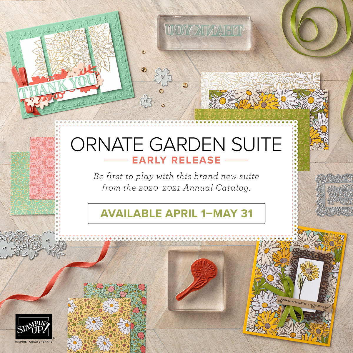 Ornate Garden Mega Suite Bundle OOP Demo Facing Blog Hop