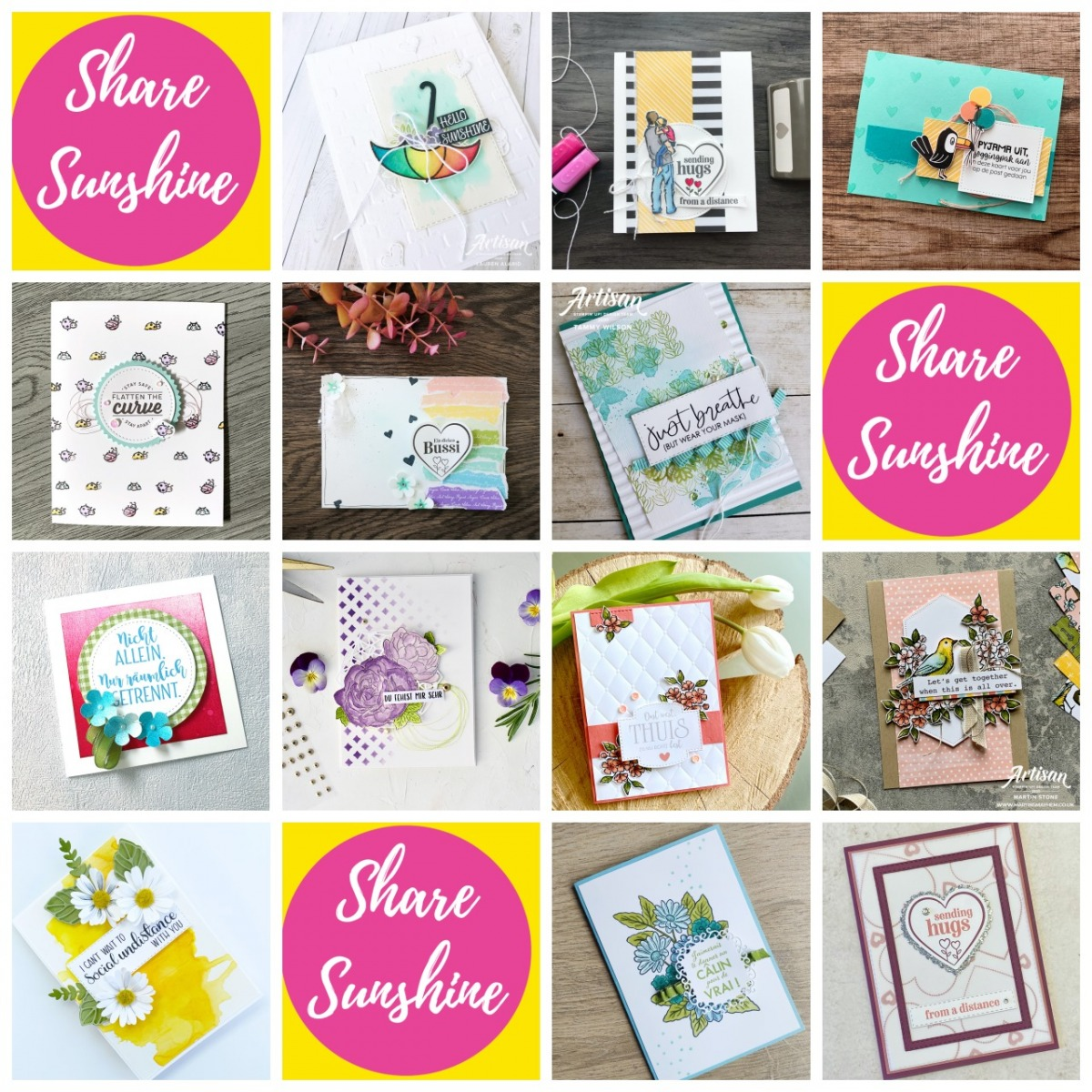 #sharesunshine COVID-19 Relief Fund Stampin' Up!