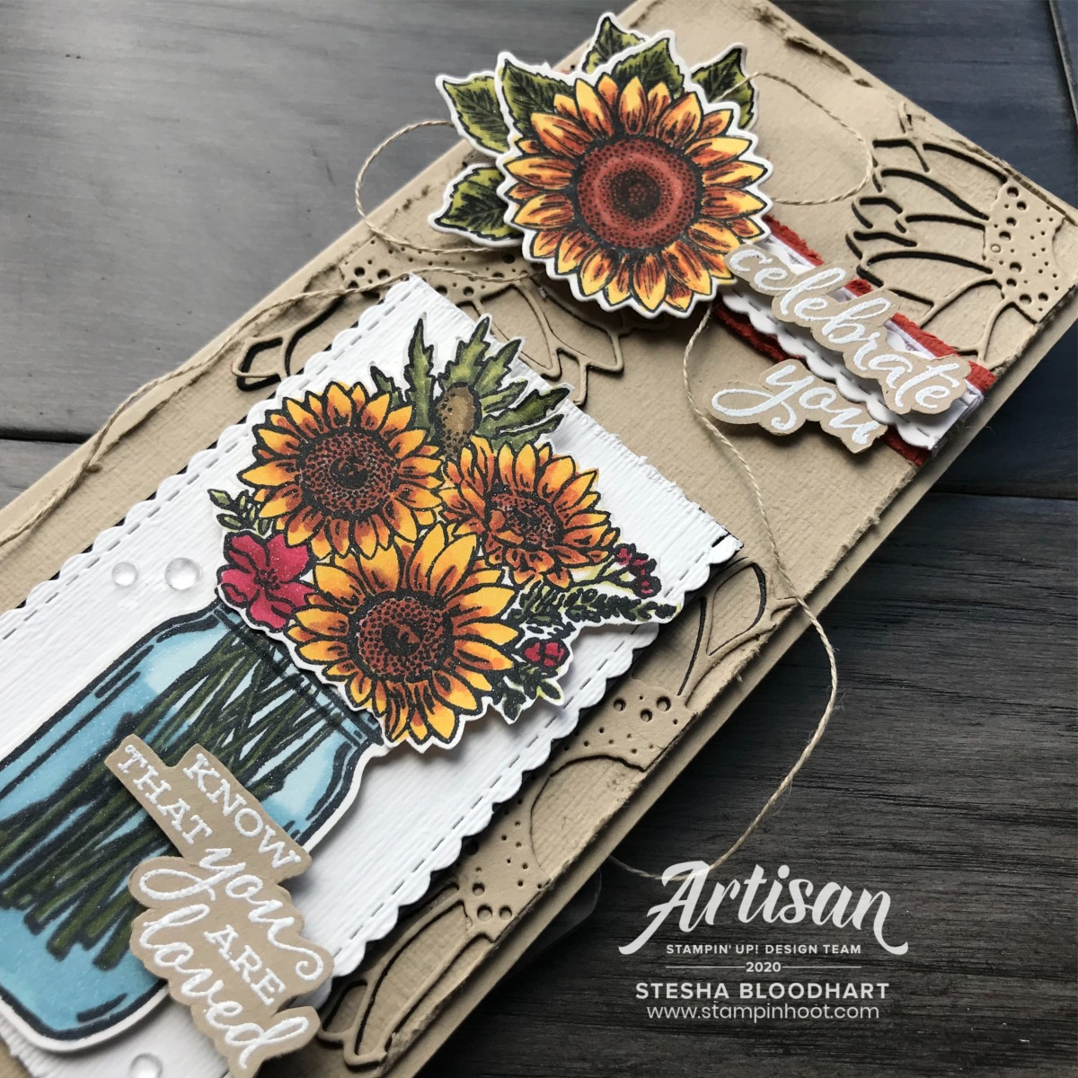 Dear Doily and Well Said Bundles by Stampin' Up! 2019 Artisan Design Team Created by member Stesha Bloodhart Stampin' Hoot!