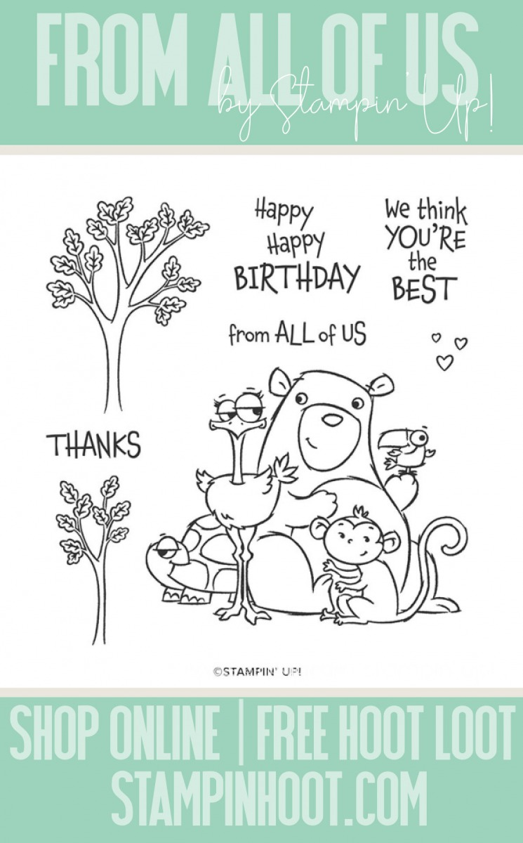 From All of Us Stamp Set by Stampin' Up! 152641 Page 93