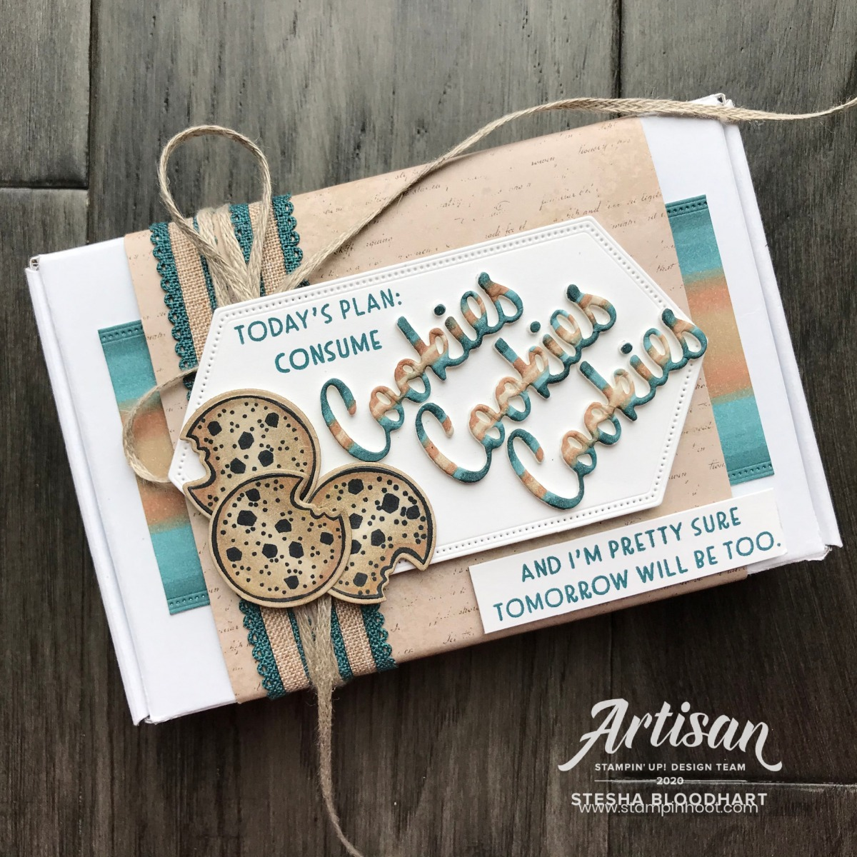 Nothing's Better Than Bundle From Stampin' Up! Mini Paper Pumpkin Box created by Stesha Bloodhart, Stampin' Hoot! 2020 Artisan Design Team Blog Hop