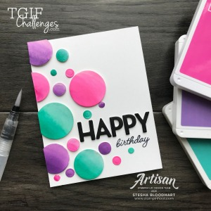 Playful Alphabet From Stampin