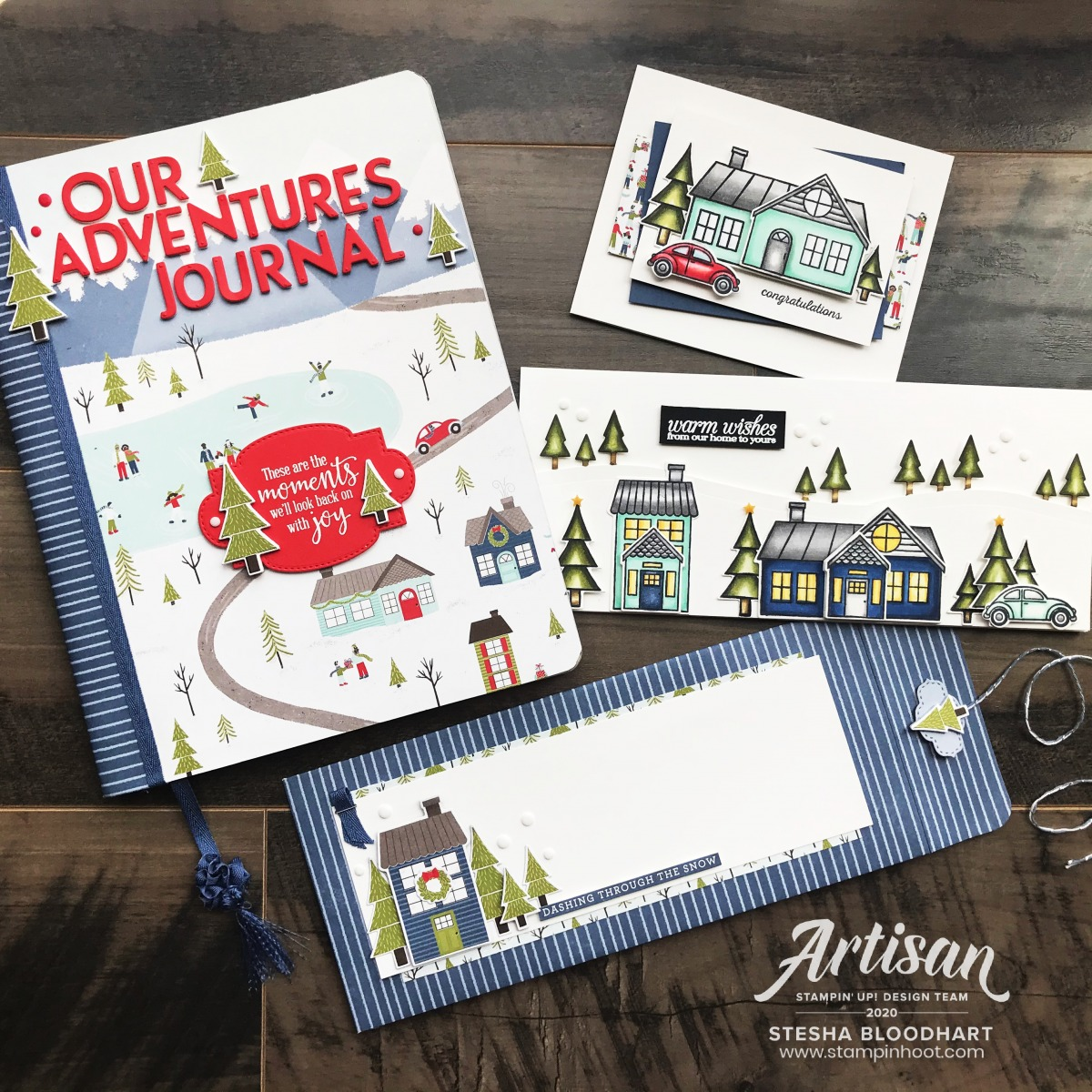 Create these projects with the Trimming the Town Suite from Stampin' Up! 2020 Artisan Design Team Blog Hop