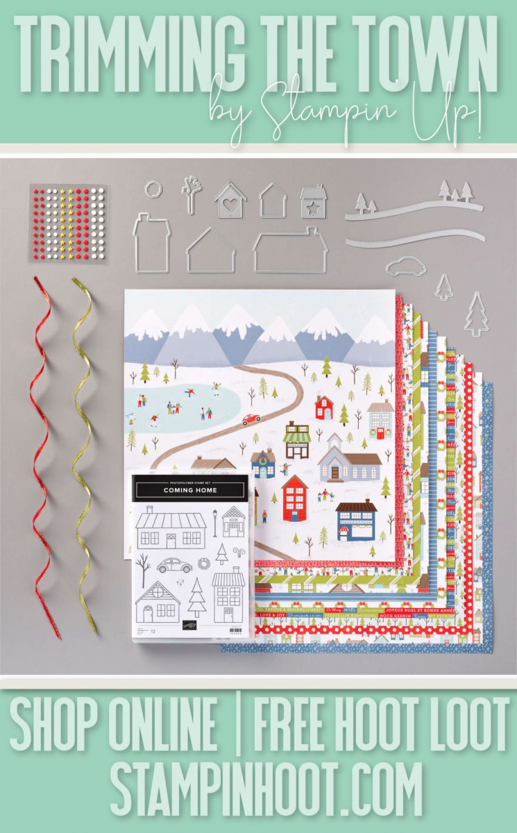 Trimming the Town Suite by Stampin' Up! 155105 Order Online 24-7 Stesha Bloodhart