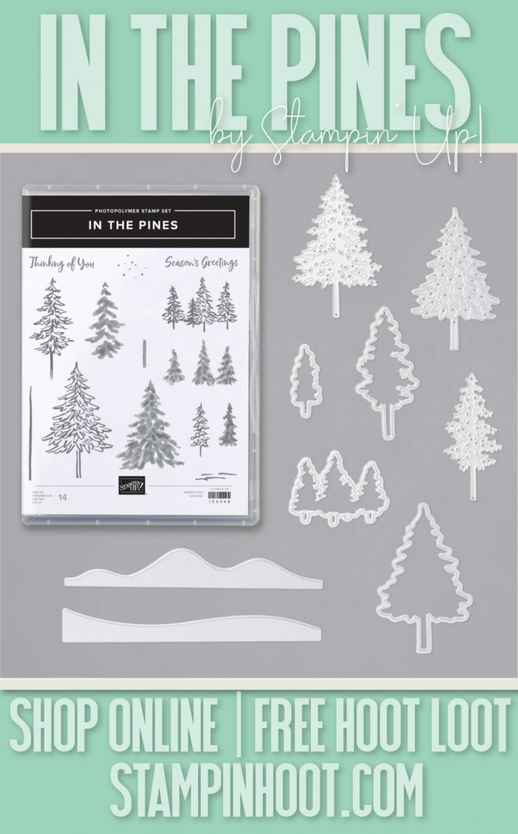 In the Pines Bundle by Stampin' Up! 155182
