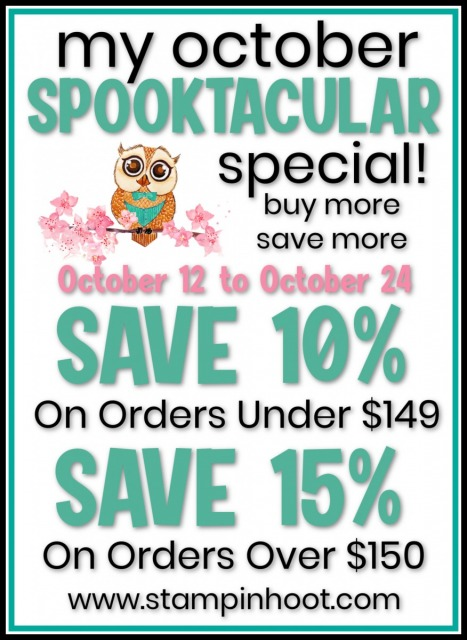 October Spooktacular Special