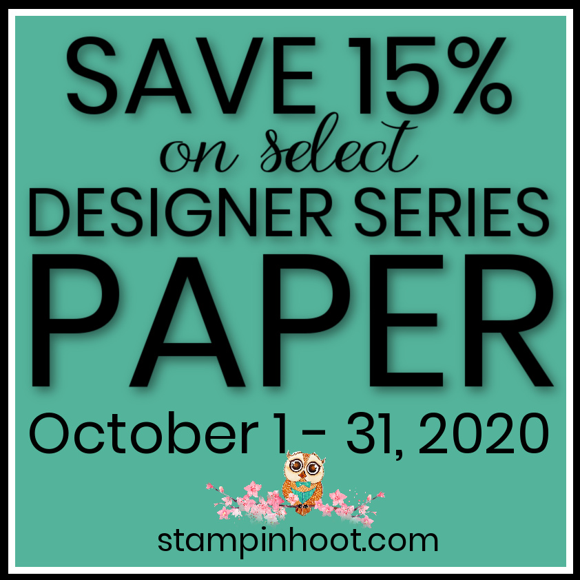 Save 15% on Designer Series Paper
