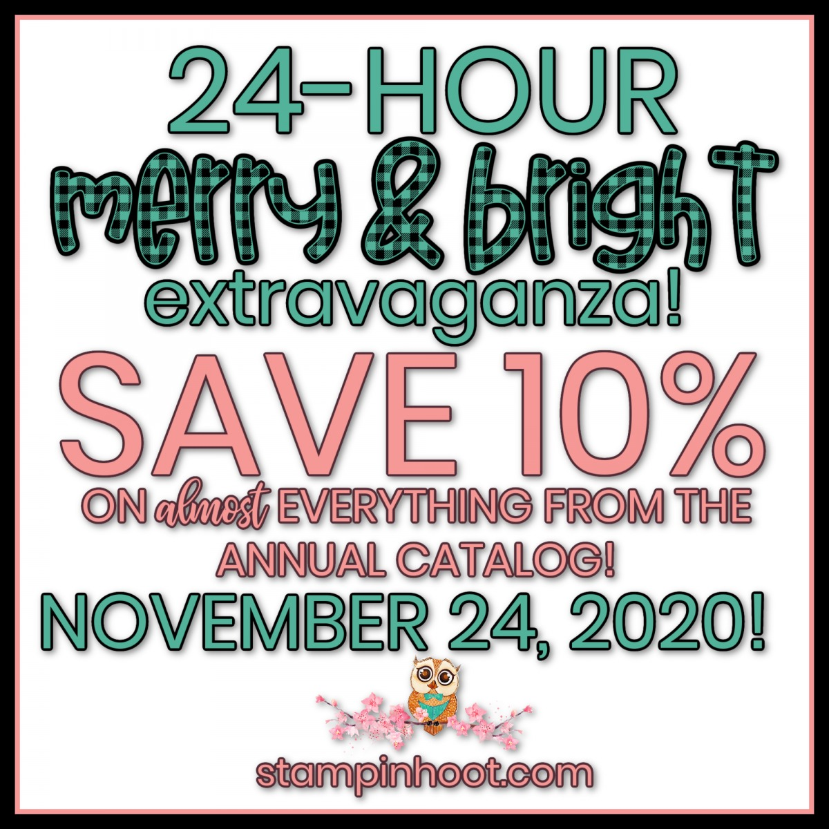 24 Hour Merry & Bright Extravaganza