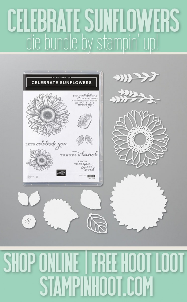 Celebrate Sunflowers Die Bundle by Stampin' Up! 154065 $51.25