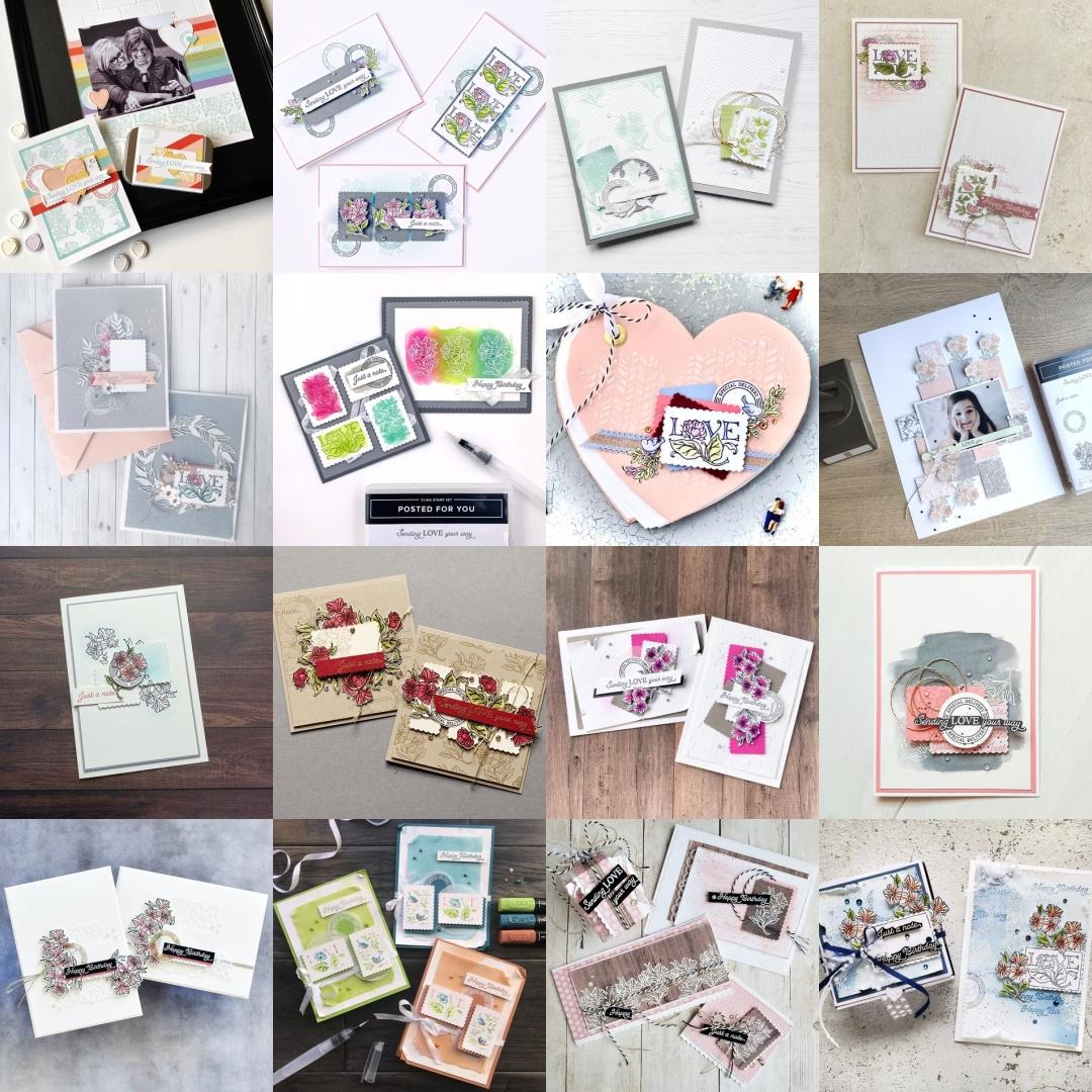 Stampin' Up! 2020 Artisan Design Team Blog Hop December 2020 - Posted for You Punch Bundle