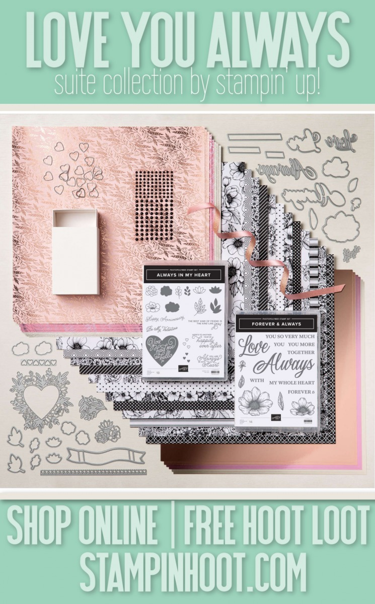 Love You Always Suite Collection 155977 Purchase Online from Stesha Bloodhart - Stampin' Hoot!
