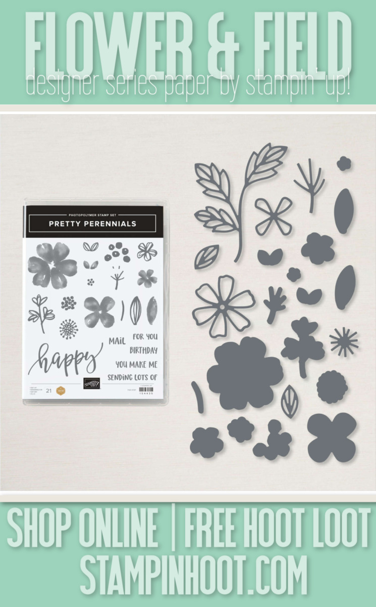 Pretty Perennials Bundle 156234 by Stampin' Up! Order Online with Stampin' Hoot Stesha Bloodhart