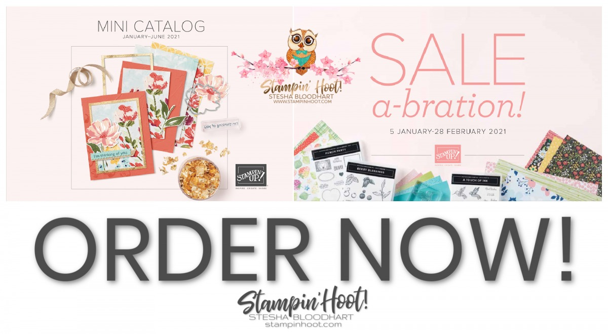 Stampin' Up! January - June 2021 Mini Catalog and Sale-a-Bration Starts Now! (1)