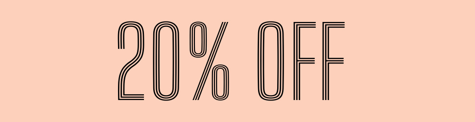 20% Off Items