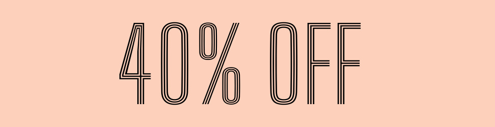 40% Off Items