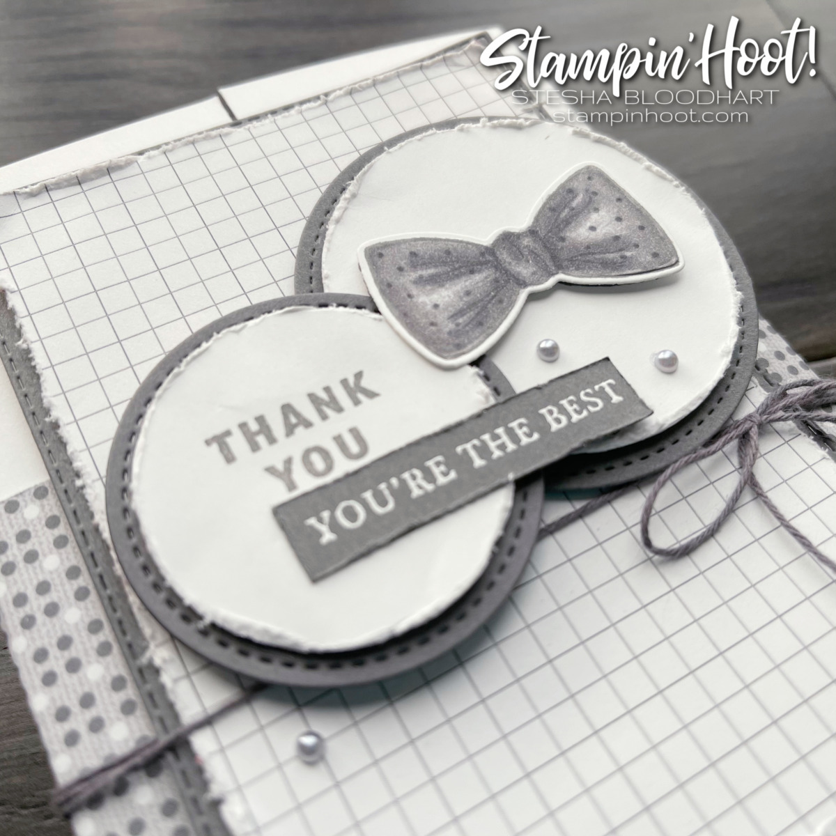 #tgifc307 Sketch Challenge using Well Suited from Stampin' Up! Card by Stesha Bloodhart, Stampin' Hoot! (2)
