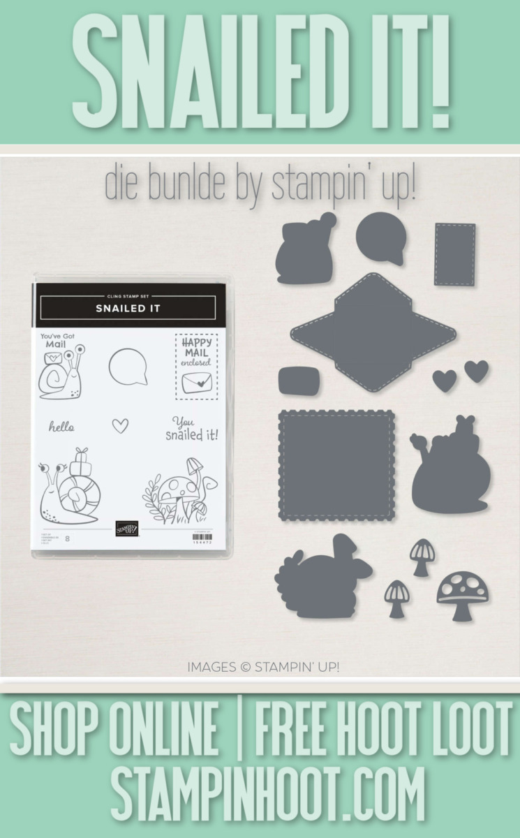 Snailed It Die Bundle from Stampin' Up! Order Online via Stesha Bloodhart, Stampin' Hoot!