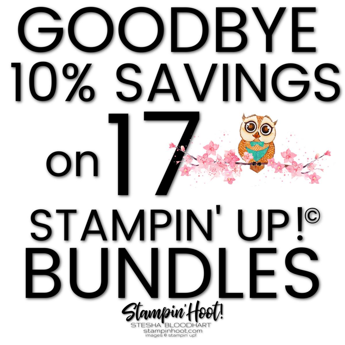 Goodbye to 10% Savings stesha