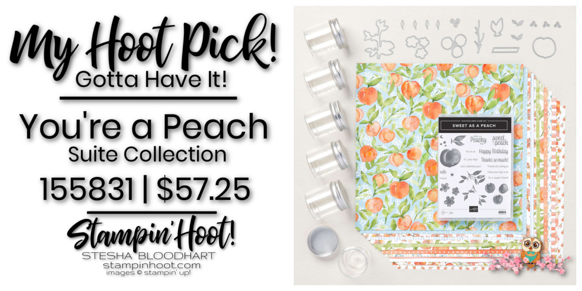 You're a Peach Suite Collection - Page 60-61 - 155831 $57.25 by Stampin' Up! Order Online with Stesha Bloodhart, Stampin' Hoot!