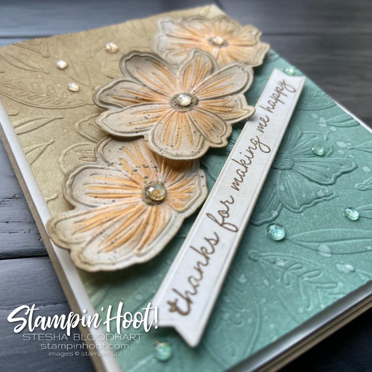 Art In Bloom Bundle - Stampin' Fancy Friday In Color Challenge _ Stesha Bloodhart 3