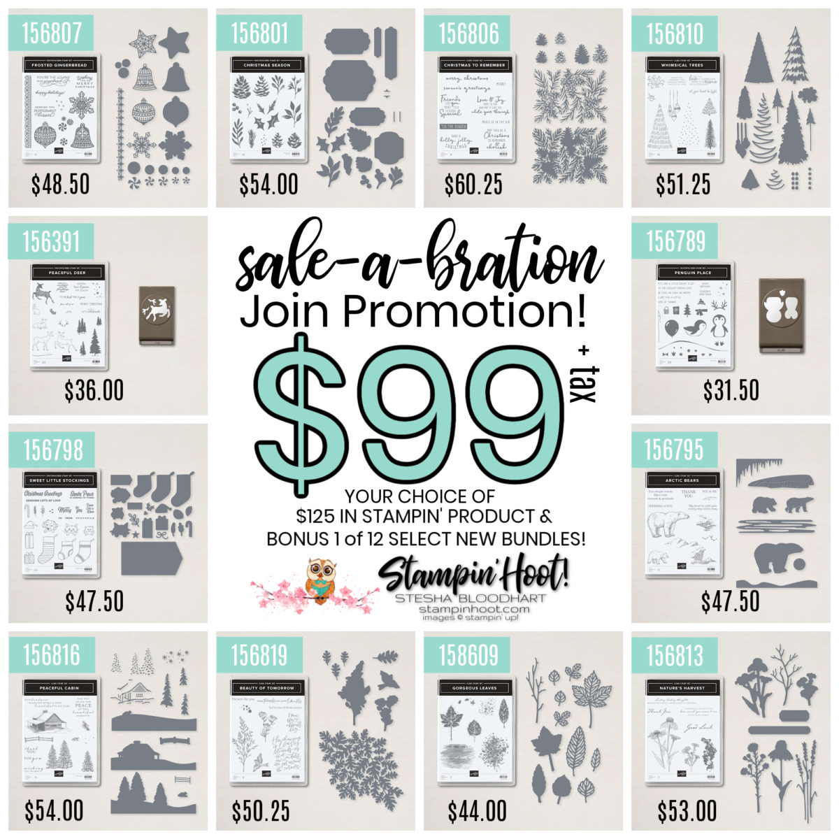 Sale-a-Bration Join Promotion - Stesha Bloodhart